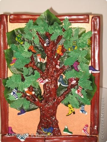 Поделки из бросового материала чудо дерево 58