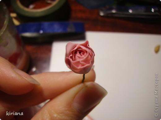 Мастер-класс, Флористика Лепка: МК сакура (часть 2:цветы ) Фарфор холодный. Фото 13