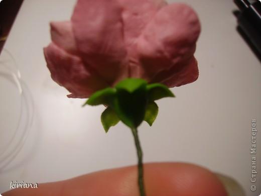 Мастер-класс, Флористика Лепка: МК сакура (часть 2:цветы ) Фарфор холодный. Фото 18