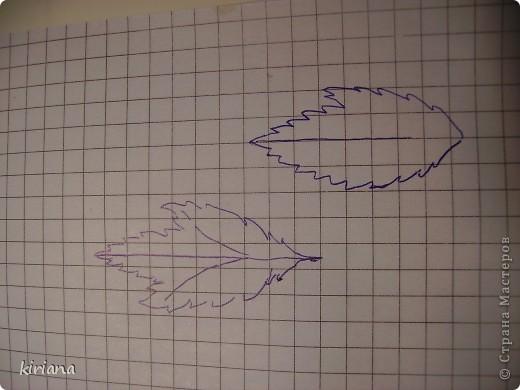 Мастер-класс, Флористика Лепка: МК сакура (часть 3: листья, тонировка, сборка) Фарфор холодный. Фото 1