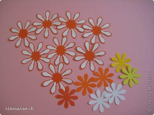 Мастер-класс Бумагопластика: цветок - георгин Бумага. Фото 2