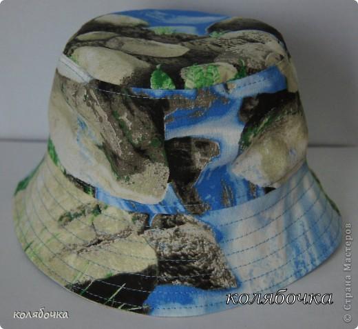 Гардероб Шитьё: 4 панамки. Ткань. Фото 8