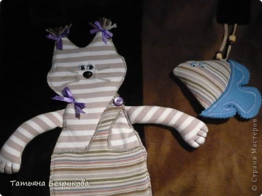 """Гардероб Шитьё: сумка """"Кот Матроскин"""".. Любителям животных.. Ткань. Фото 2"""