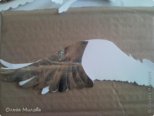 Мастер-класс Бумагопластика: Утка (мастер-класс) Бумага. Фото 10