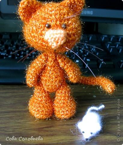 Игрушка, Поделка, изделие Вязание крючком: Описание кота Женьки. Может, кому-то пригодится)). Фото 2