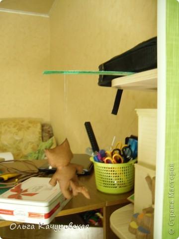 Игрушка, Мастер-класс Шитьё: А у нас теперь кошки живут! Ткань 8 марта, Валентинов день, День рождения. Фото 43