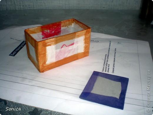 Мастер-класс, Поделка, изделие Моделирование: Органайзер для рабочего стола. Небольшой МК. Бусинки, Картон, Клей. Фото 9