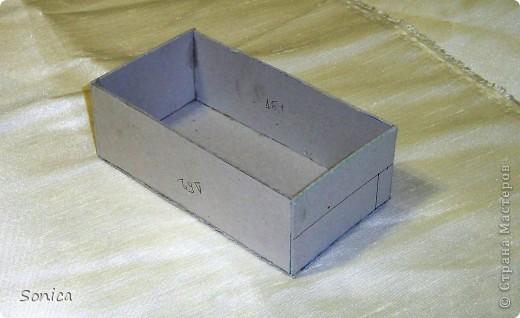 Коробочка для украшений мастер класс