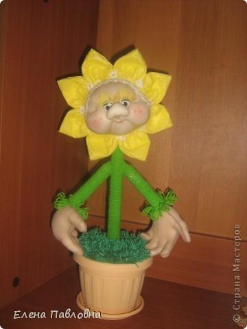 Куклы, Мастер-класс Вязание крючком, Шитьё: Как я делаю цветы... Гипс, Капрон, Пряжа, Тесьма, Ткань. Фото 1