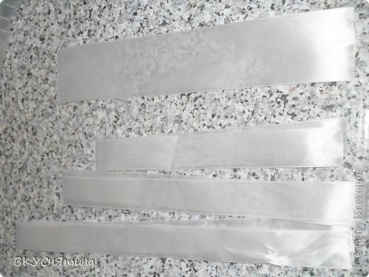 Мастер-класс Шитьё: МК кудрявый бантик Ленты. Фото 2