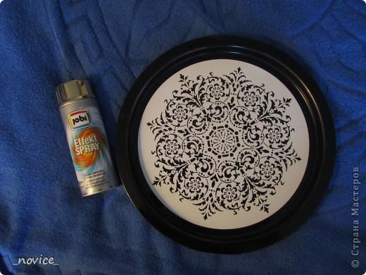 Декор предметов, Мастер-класс Роспись: МК : точечная роспись для ленивых Краска. Фото 5