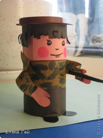 Как сделать солдата своими руками