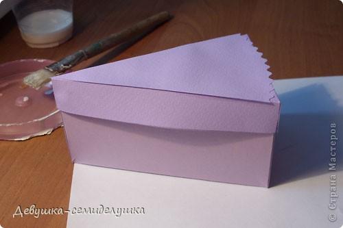 Поделка, изделие: Лавандовая свадьба: бонбоньерки + Мастер-класс Бумага, Ленты Свадьба. Фото 12