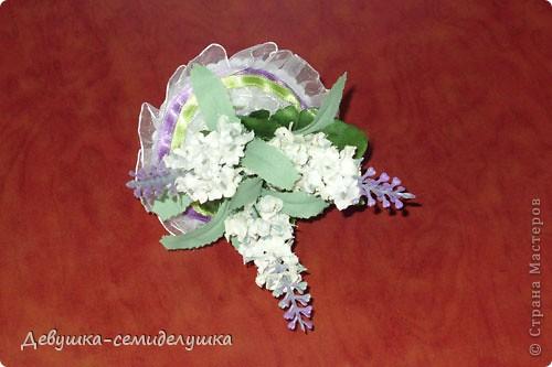 Поделка, изделие: Лавандовая свадьба: бонбоньерки + Мастер-класс Бумага, Ленты Свадьба. Фото 34
