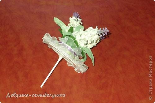 Поделка, изделие: Лавандовая свадьба: бонбоньерки + Мастер-класс Бумага, Ленты Свадьба. Фото 35