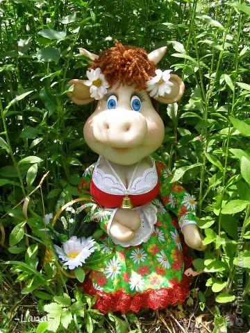 Куклы: Буренка Капрон, Ткань. Фото 1