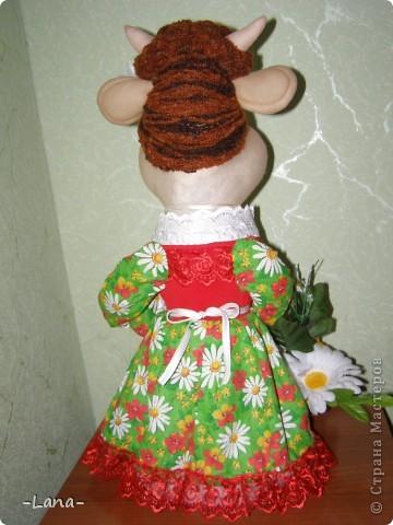 Куклы: Буренка Капрон, Ткань. Фото 3