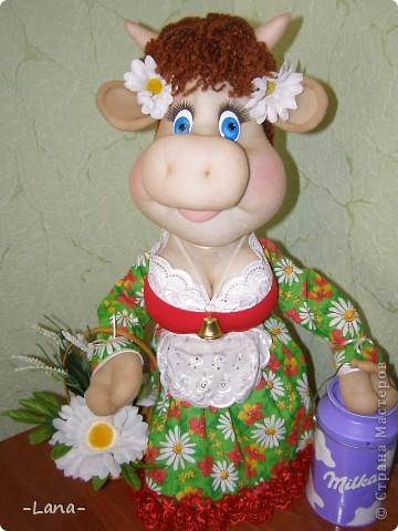 Куклы: Буренка Капрон, Ткань. Фото 4