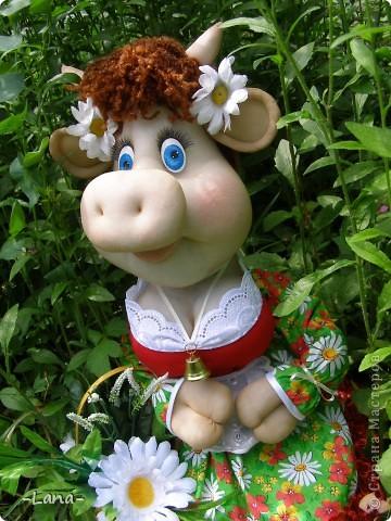 Куклы: Буренка Капрон, Ткань. Фото 2
