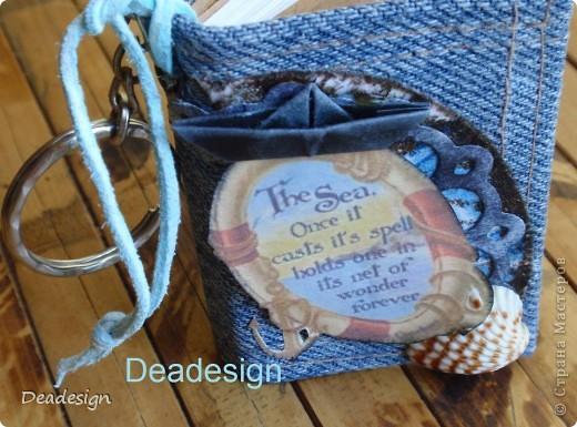 Декор предметов, Поделка, изделие Аппликация, Вышивка, Шитьё: Брелочек и сумка с бисером Бисер, Бумага, Картон, Ткань День рождения. Фото 3