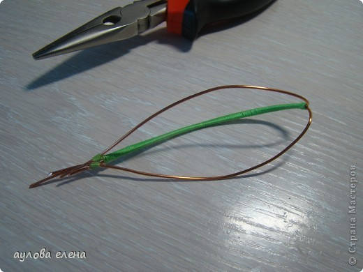 Мастер-класс Шитьё:  Горошек ( магнит на холодильник) Капрон, Проволока. Фото 5