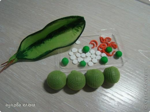 Мастер-класс Шитьё:  Горошек ( магнит на холодильник) Капрон, Проволока. Фото 12