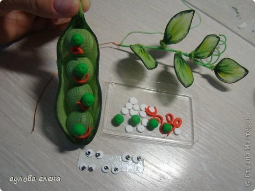 Мастер-класс Шитьё:  Горошек ( магнит на холодильник) Капрон, Проволока. Фото 15