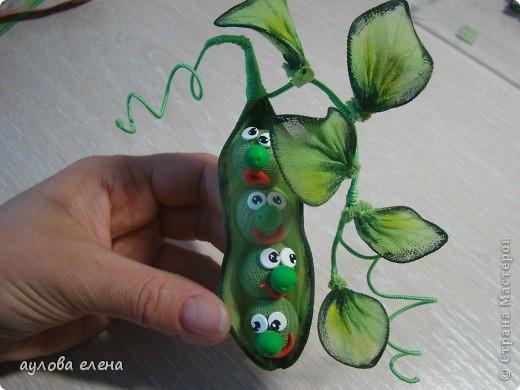 Мастер-класс Шитьё:  Горошек ( магнит на холодильник) Капрон, Проволока. Фото 21