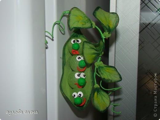 Мастер-класс Шитьё: Горошек ( магнит на холодильник) Капрон, Проволока. Фото 1