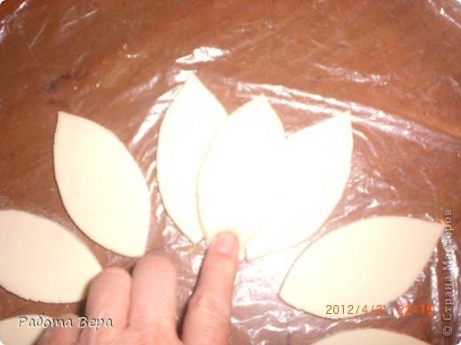 Мастер-класс Лепка: МК подсолнух. Тесто соленое. Фото 8