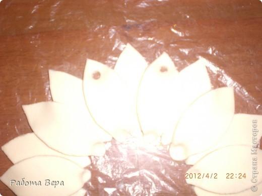 Мастер-класс Лепка: МК подсолнух. Тесто соленое. Фото 9
