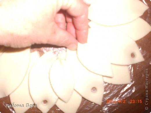 Мастер-класс Лепка: МК подсолнух. Тесто соленое. Фото 13