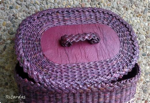 Плетение из газеты зубатки