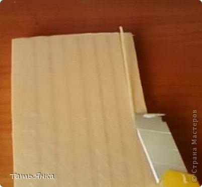 Мастер-класс, Поделка, изделие Вырезание, Макет, Моделирование: Как я делаю свои домики-ночники. Картон, Пенопласт, Поролон Отдых. Фото 8