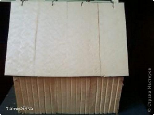 Мастер-класс, Поделка, изделие Вырезание, Макет, Моделирование: Как я делаю свои домики-ночники. Картон, Пенопласт, Поролон Отдых. Фото 21