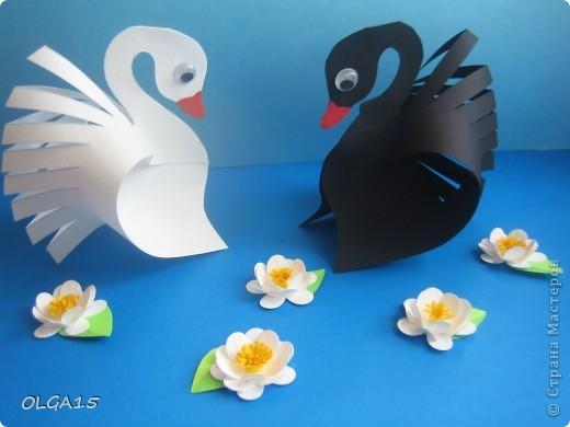 Птицы из бумаги для детей