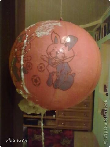 Сделать шар из монтажной пены