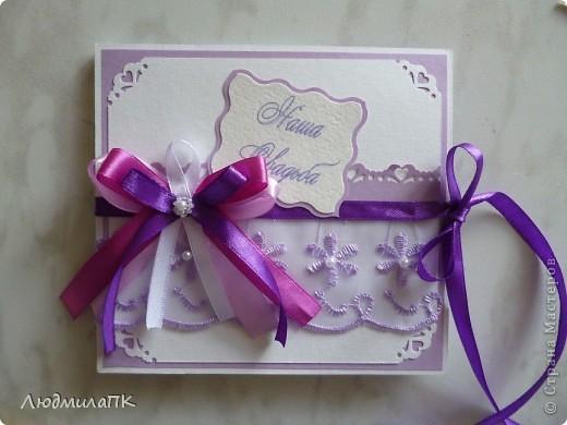 Мастер-класс, Поделка, изделие, Упаковка: Изготовление коробочки для диска МК Бумага, Ленты Свадьба. Фото 1