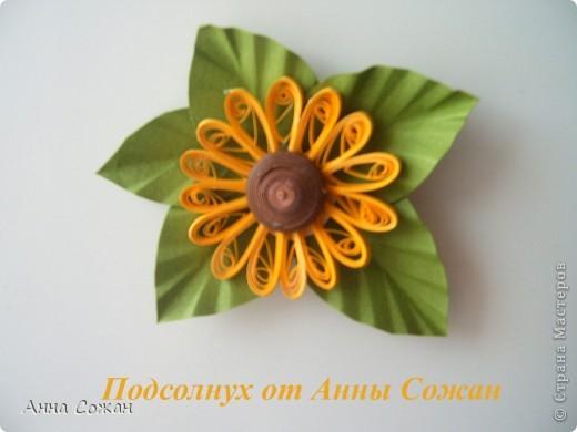 Поделка, изделие Бумагопластика, Квиллинг: Магнитики для души- Полевые цветы Бумага. Фото 5