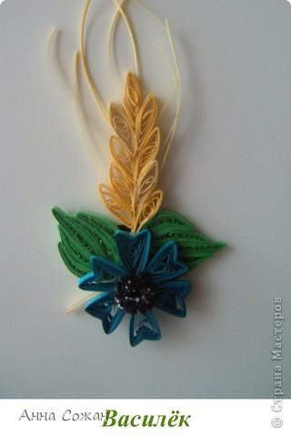 Поделка, изделие Бумагопластика, Квиллинг: Магнитики для души- Полевые цветы Бумага. Фото 7