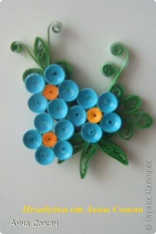 Поделка, изделие Бумагопластика, Квиллинг: Магнитики для души- Полевые цветы Бумага. Фото 9