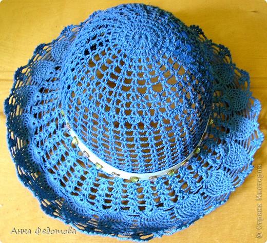 Вязание крючком шляпок девочек