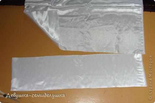 Поделка, изделие: Лавандовая свадьба: арка + Мастер-класс Бусинки, Ткань Свадьба. Фото 14