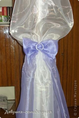 Поделка, изделие: Лавандовая свадьба: арка + Мастер-класс Бусинки, Ткань Свадьба. Фото 35