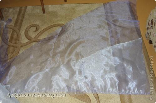Поделка, изделие: Лавандовая свадьба: арка + Мастер-класс Бусинки, Ткань Свадьба. Фото 40