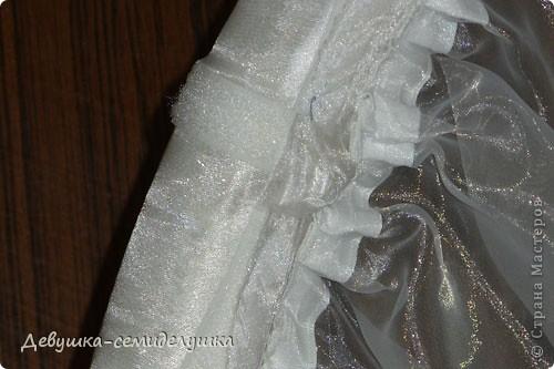 Поделка, изделие: Лавандовая свадьба: арка + Мастер-класс Бусинки, Ткань Свадьба. Фото 44