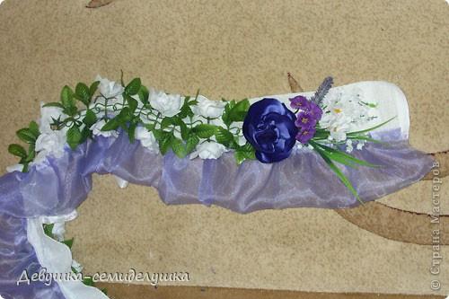 Поделка, изделие: Лавандовая свадьба: арка + Мастер-класс Бусинки, Ткань Свадьба. Фото 49