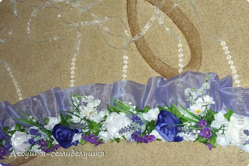 Поделка, изделие: Лавандовая свадьба: арка + Мастер-класс Бусинки, Ткань Свадьба. Фото 50
