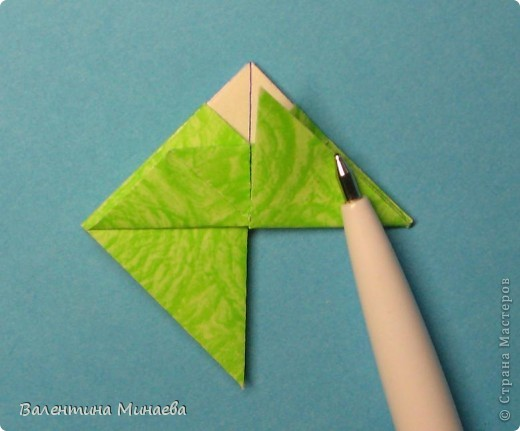 Мастер-класс Кусудама: Кусудама Регата + МК Бумага. Фото 13
