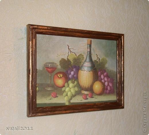 Картина, рисунок, панно, Мастер-класс Декупаж: Картина и мини МК Салфетки. Фото 1
